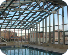 Commercial Pool & Spa Enclosure