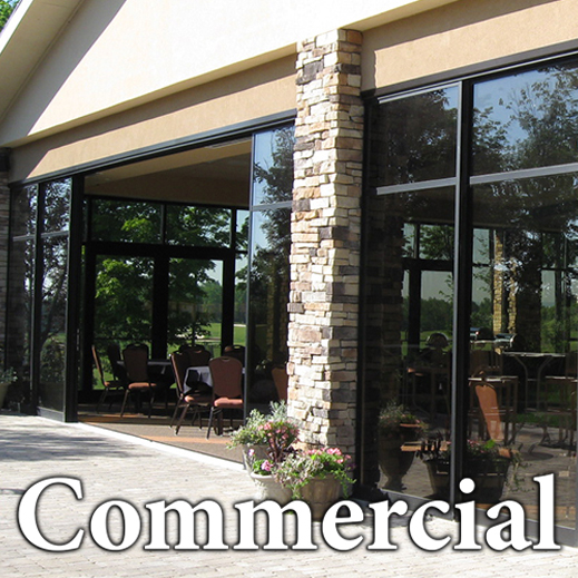 Commercial Sliding Glass Doors by Solar Innovations