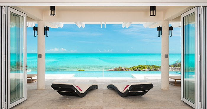 Folding Glass Walls Turks and Caicos