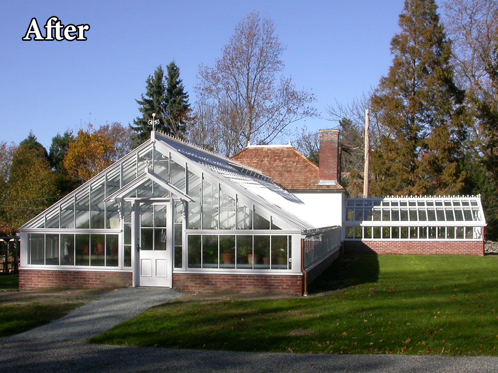 Commercial Greenhouses Restoration After