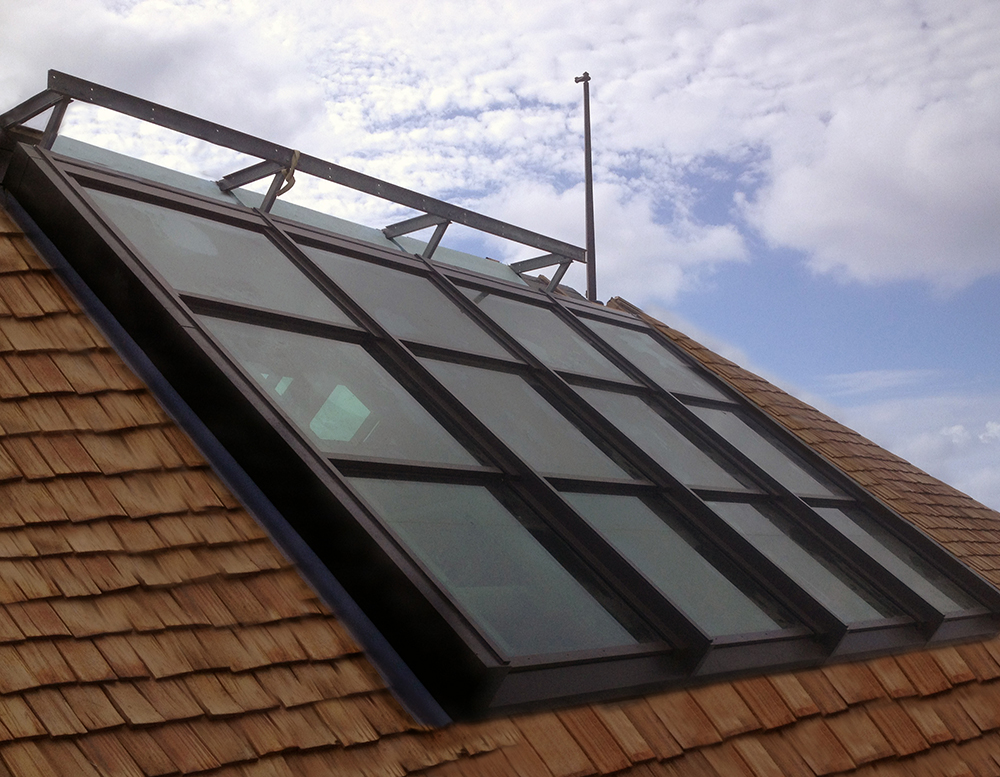 Mutli-Panel Retractable Skylights