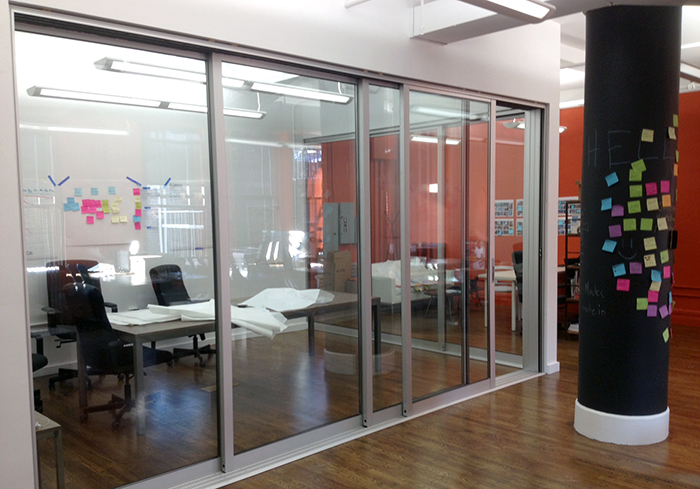 Office Sliding Glass Wall
