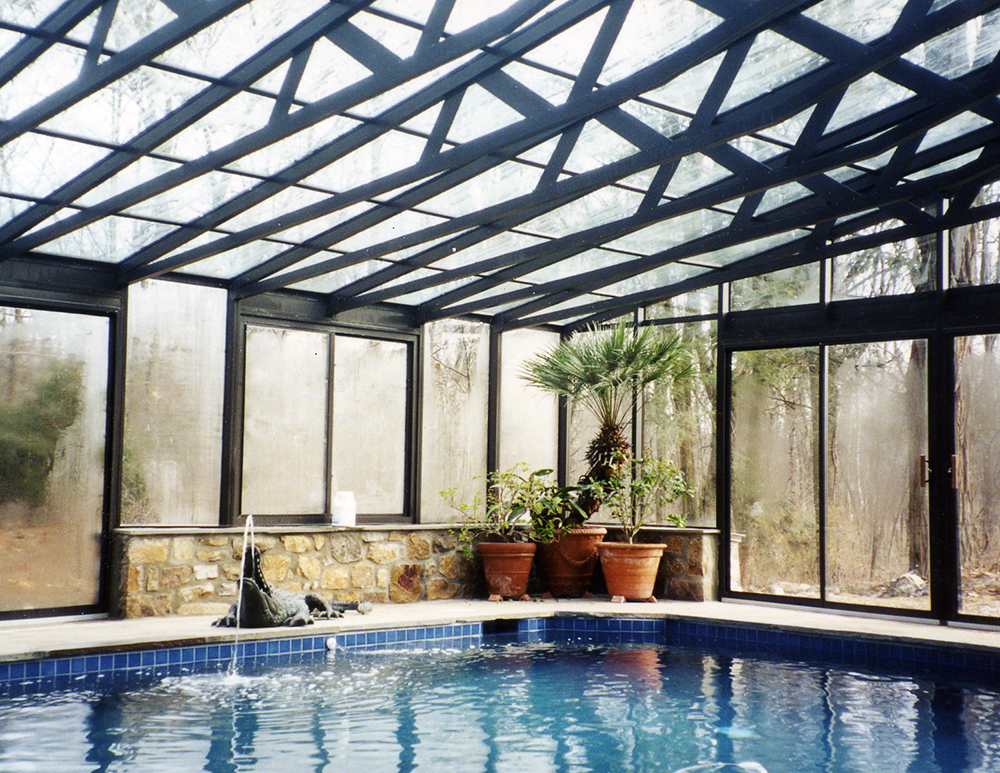 Pool and Spa Enclosures Interior
