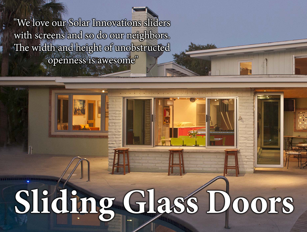 Sliding Glass Doors by Solar Innovations
