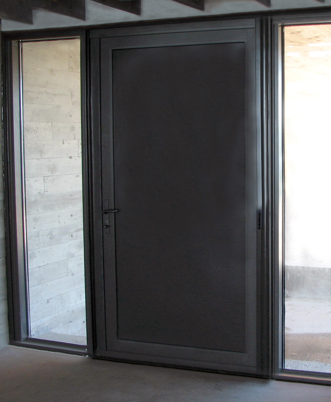 Solid Aluminum Terrace Door