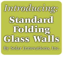 Standard Folding Glass Walls