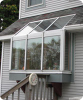 Straight Eave, Lean-To Garden Window by Solar Innovations, Inc.