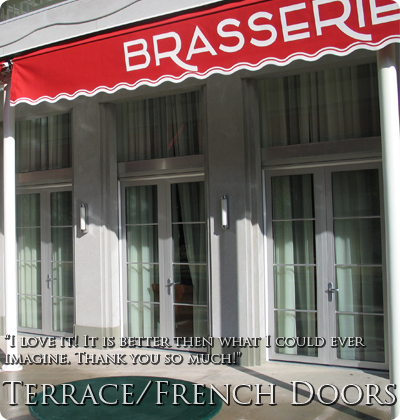 Terrace Doors and French Doors