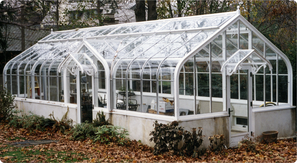100 Year Old Greenhouse - Glass Replacement