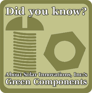 Solar Innovations Green Components