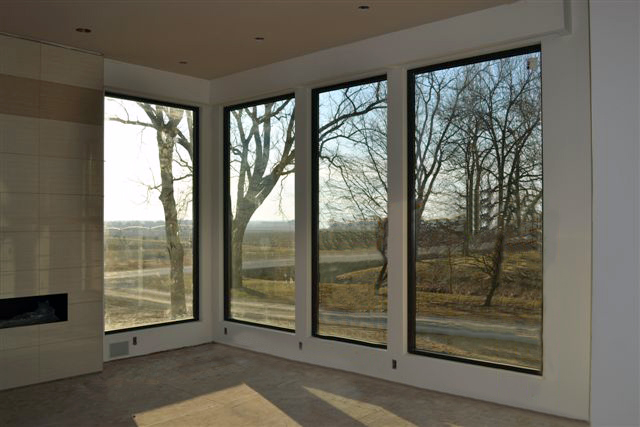 Modern Interior Mulled Windows