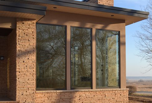 Mulled Windows in Residential Home