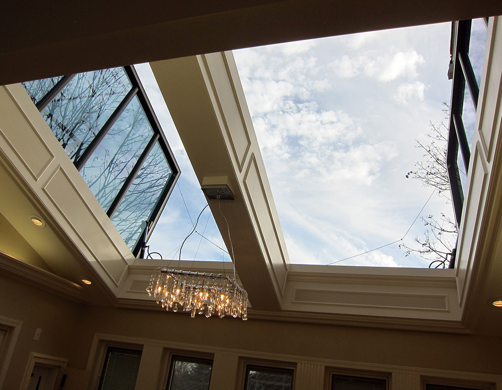 90 degree operable Skylights