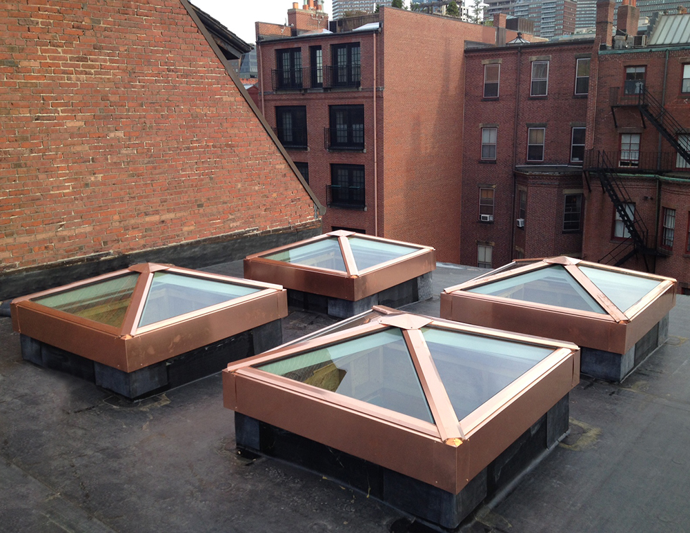 Pre assembled Skylights