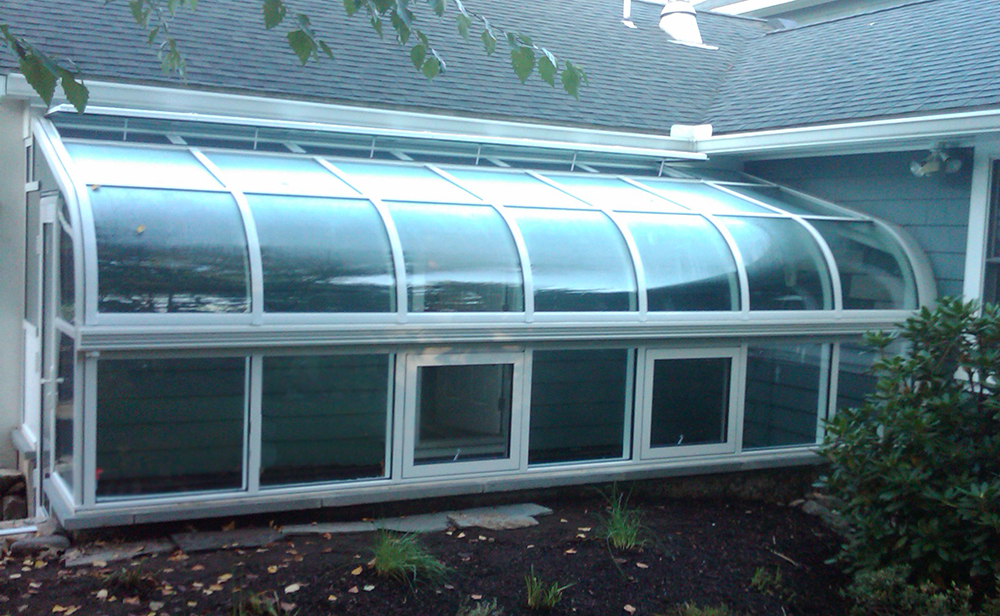 Curved Eave Lean To Aluminum Bar Bending