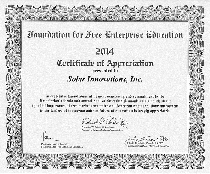 Enterprise Foundation Award